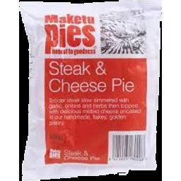 Photo of Maketu Pies Steak & Cheese 200g
