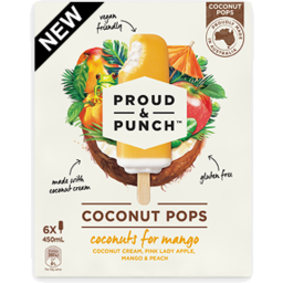 Photo of Proud & Punch 6 Pack Coconuts For Mango 450ml