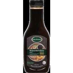 Photo of Delmaine Sauce Worcestershire 580g