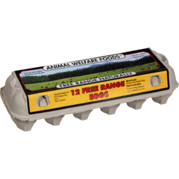 Photo of Animal Welfare Eggs Free Range 12 Pack