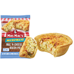 Photo of Mrs Macs Microwave Pie Bacon & Cheese 175g