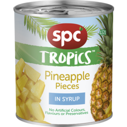 Photo of Spc Tropics Pineapple Pieces In Syrup 432g