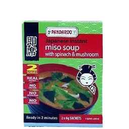 Photo of Pandaroo Miso Spinch & Mushroom  12g
