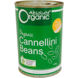 Photo of Absolute Organic Cannellini Beans 400g