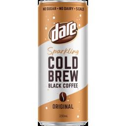 Photo of Dare Original Sparkling Cold Brew Black Coffee 250ml