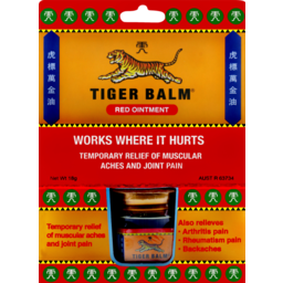 Photo of Tiger Balm Red Extra Strength 18g