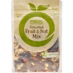 Photo of Macro Fruit Nut Mix Roasted 500g