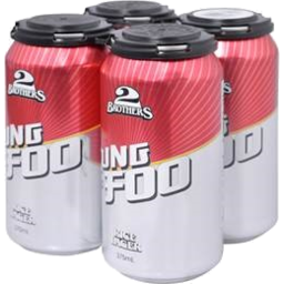 Photo of 2 Brothers Kung Foo Rice Lager Can