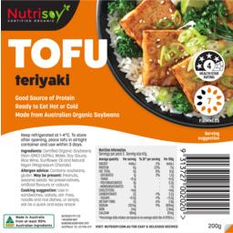 Photo of Nutrisoy Tofu Terriyaki 200g