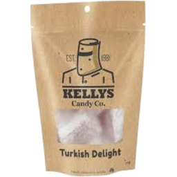 Photo of Kelly's Candy Co Turkish Delight Pouch 275gm