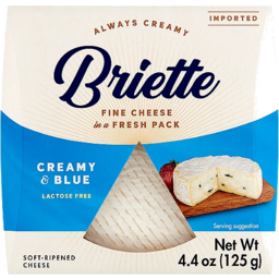 Photo of Briette Creamy & Blue 125g