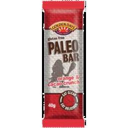 Photo of Golden Days Orange And Cacao Crunch Paleo Bar 40gm