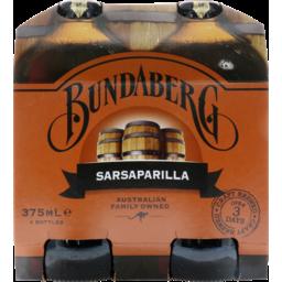 Photo of Bundaberg Sarsaparilla 4x375ml