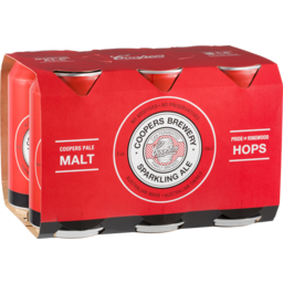 Photo of Coopers Brewery Sparkling Ale 6 Pack