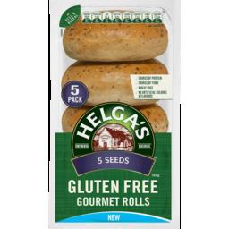 Photo of Helgas Rolls 5 Seeds Gluten Free 4pk