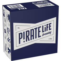 Photo of Pirate Life Brewing Pale Ale Cans