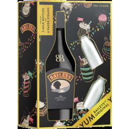 Photo of Baileys 700ml Milk Bottle Gift Pack