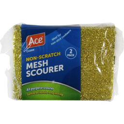 Photo of Ace Scourer Mesh Non Scatch 2 Pack