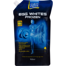 Photo of Farm Pride Egg Whites Frozen 950ml