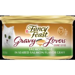 Photo of Fancy Feast Cat Food Gravy Lovers Salmon Feast 85g