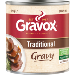 Photo of Gravox Traditional Gravy Mix Can 120g