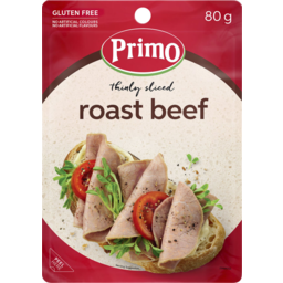Photo of Primo Thinly Sliced Roast Beef 80g