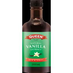 Photo of Queen Essences Natural Vanilla Extract 200ml