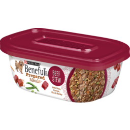 Photo of Beneful Dog Food Prepared Meals Beef Stew Dog Food 283g