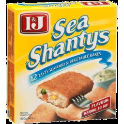 Photo of I&J Sea Shantys 420gm