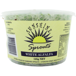 Photo of Alfalfa White Sprouts 125g