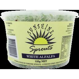 Photo of Alfalfa White Sprouts 125g