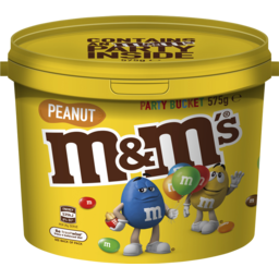 Photo of M&M's Peanut Chocolate Party Share Bucket 575g
