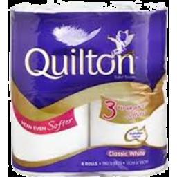 Photo of Quilton T/Roll 3p Clas Wht 4pk