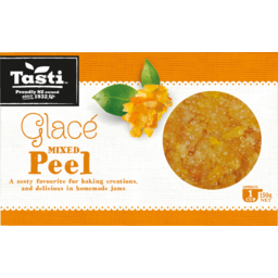 Photo of Tasti Mixed Glace Peel 150g