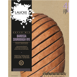 Photo of Laucke Barossa Sour Dough Rye Bread Mix 2.4 Kg