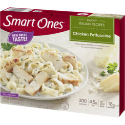 Photo of Smart Ones Savory Italian Recipes Chicken Fettuccine