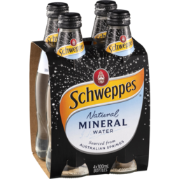 Photo of Schweppes Mineral Water Natural 300ml
