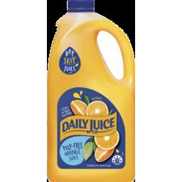 Photo of Daily Juice Orange Pulp Free 2lt