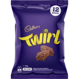 Photo of Cadbury Twirl Sharepack 12 Pack 168g