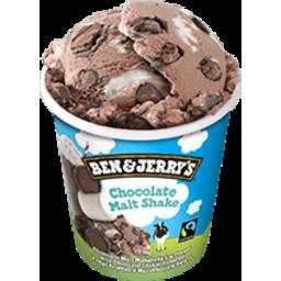 Photo of Ben & Jerrys Chocolate Malt Shake 458ml