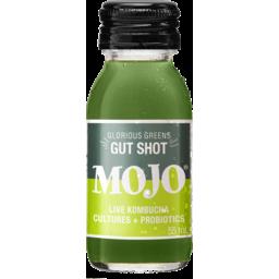 Photo of Mojo Glorious Greens Gut Shot Live Kombucha Cultures + Probiotics 55ml