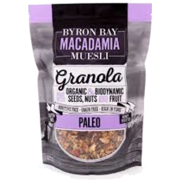 Photo of Byron Bay Macadamia Granola Paleo 450gm