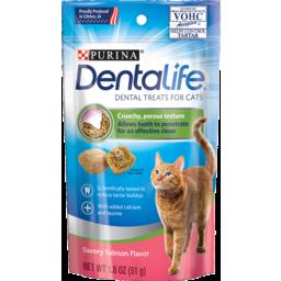 Photo of Purina Dentalife Cat Treats Salmon 51g