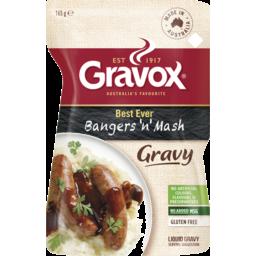 Photo of Gravox® Best Ever Bangers 'N' Mash Liquid Gravy Pouch 165g