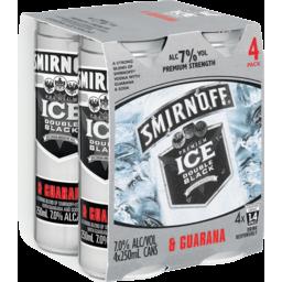 Photo of Smirnoff Ice Double Black With Guarana 7%