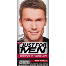 Photo of Just For Men Hair Colour Medium Brown