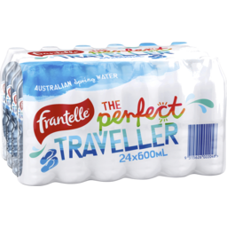Photo of Frantelle 600ml Natural 24 Pack Front