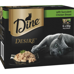 Photo of Dine Desire With Succulent Chicken Breast 6x85g Pack