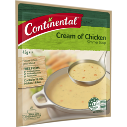 Photo of Continental Simmer Soup Cream Of Chicken 45g