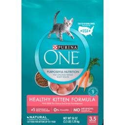Photo of One Cat Food Dry Smartblend Healthy Kitten Formula 1.59kg